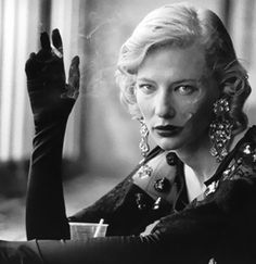 Cate Blanchett as seen through the lens of photographer Peter Lindbergh. At the link in bio, take a look back at 40 years of Lindbergh's luscious portrait and fashion photography. Annie Leibovitz Photos, Annie Leibovitz Photography, Famous Portrait Photographers, Famous Portraits, Celebrity Photographers, Famous Photos, Peter Lindbergh, Foto Portrait, Portrait Photography