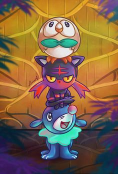 Alola Starters - Pokemon Sun and Moon, Lucas Mendonça