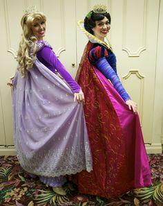 Beautiful Princesses Christmas dresses!