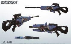 Súng của Widow Maker