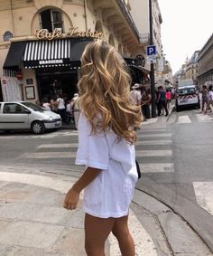 Fashion outfits 837951074406647245 - Balayage miel : Ces photos vont vous convaincre : Album photo – aufeminin Source by Hair Inspo, Hair Inspiration, Peinados Pin Up, Dream Hair, Blonde Balayage, Honey Balayage, Hair Day, Girl Hair, Look Fashion