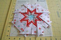 lovely little handmades: a folded star tutorial!