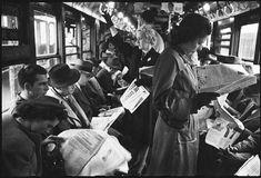 Stanley Kubrick shoots the N.Y.C. subway, 1946   Dangerous Minds