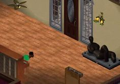 """And really weird stuff happened sometimes. 23 Unforgettable Things About Playing """"The Sims"""" The Sims, Sim Fails, Sims Glitches, Sims Memes, Video Game Characters, Funny Games, The Funny, I Laughed, Hilarious"""