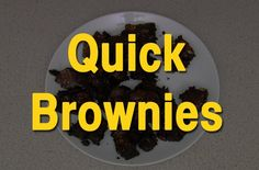 Jamie Oliver's Super-Quick Brownies