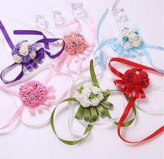 wrist flowers for prom, wrist flowers for wedding