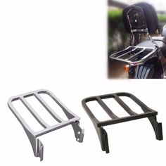 Motorcycle Luggage Rack Rear Carrier For Harley Sportster XL 883 1200 2004-2018 Dyna Fat Boy 2006-2018 Softail Fatboy 2000-2005  Price: 80.68 & FREE Shipping  #helmets|#clothing|#parts|#accessories Motorcycle Luggage, 96 Hours, Harley Dyna, Luggage Rack, Color Chrome, Helmets, Fat, Free Shipping