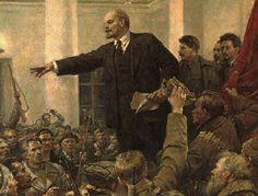 Lenin overtuigde de Russische mensen ervan dat het communisme het beste was
