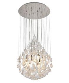 Φωτιστικά Κρεμαστά : MX160617-9W Φωτιστικό Λευκό Γυαλί Μέταλλο G9 K0031 Decor, Home Goods, Ceiling Lights, Ceiling, Home Decor, Light, Chandelier