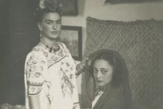 The 10 photographs perfectly capture the captivating beauty of Frida Kahlo