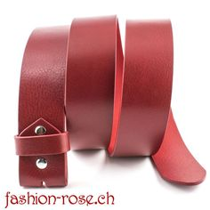 """CLASSICO - """"must-have"""" high Quality Wechselgürtel in Rot, kürzbar Must Haves, Bracelets, Leather, Jewelry, Fashion, Silver Decorations, Red Color, Armband, Charm Bracelets"""