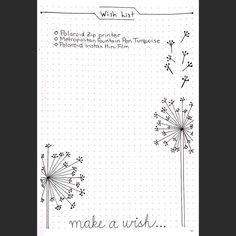 Merry Christmas Wishes : My wish list Bullet Journal Wish List, Bullet Journal Gifts, Bullet Journal Christmas, Bullet Journal Junkies, Life Journal, Bullet Journal Inspiration, Journal Art, Bujo, Journal Organization