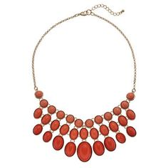 Pink Circle & Oval Cabochon Bib Necklace Offers are welcomed‼️                                             Product Details An array of pink-hued cabochons make this bib necklace a fascinating find. / NECKLACE DETAILS Length: 18.5 in. with 2-in. extender Clasp: lobster-claw Metal: gold tone Stones: pink & coral-colored cabochon Tory Burch Jewelry Necklaces
