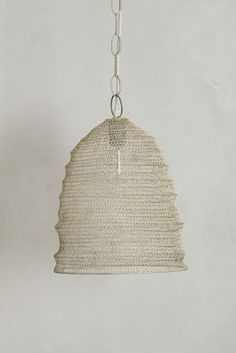 Mesh Beehive Pendant Lamp / Anthropologie