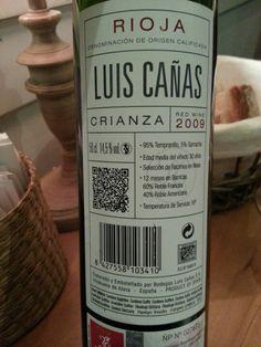 Luis Cañas 2009 Crianza (DO Rioja)