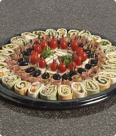 Appetizers For Party Party Snacks Appetizer Recipes Salad Recipes Snack Recipes Grazing Tables Party Trays Party Finger Foods Game Day FoodChef Knows Best cateringAppetizer table- Sandwiches, roll ups, Wings, veggies, frui Finger Food Appetizers, Appetizers For Party, Finger Foods, Appetizer Recipes, Party Food Platters, Food Trays, Meat Trays, Meat Cheese Platters, Meat Platter