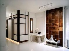Zen- the big squares on your right wall - accent with this black pillar @Erika Uichanco
