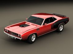 muscle cars | The Hottest Muscle Cars In the World: Fourty One Years Plymouth Hemi ...