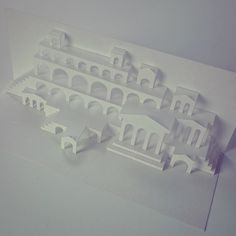 #3D #popup #paper #city  #geomteric #kiriorigamic  #design #by #popupology  #papercutting #PaperShapers #origamicarchitecture #kirigami #kiriorigami #kineticpaper #paperart #fold #foldesign #FoldForm #London