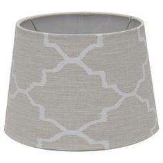 Threshold™ Diamond Shade - Brown Linen