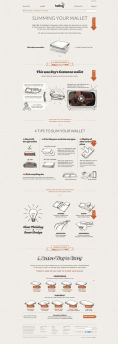 Bellroy - Slimming your wallet - great advice