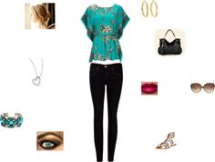"""Floral Friday"" by softballcutie12400 on Polyvore"