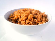 Chicho's Kitchen: Bulgur with tomato - Burghul bel banandura