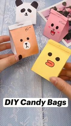 Cool Paper Crafts, Paper Crafts Origami, Diy Crafts For Gifts, Diy Home Crafts, Cute Crafts, Diy Craft Projects, Crafts For Kids, Kawaii Crafts, Creative Crafts