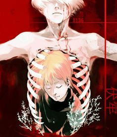 Kaneki Ken and Nagachika Hideyoshi ||| Tokyo Ghoul Fan Art