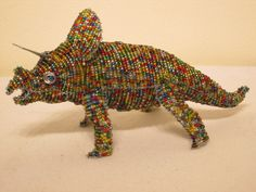 Dinosaurus #1 African Masks, African Art, Animal Key Rings, Beaded Animals, African Animals, Wire Art, Stone Art, Animal Paintings, Turtle