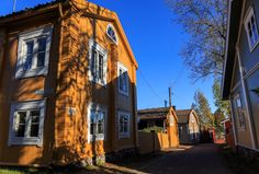 Old wooden house in Loviisa, Finland