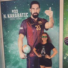 #barcelona#spain#handball#balonmano#pallamano#karabatic#karabatic33#33#central#ilovehandball#palaubluagrana#campnou#me#selfie#handballplayer#instahandball#instakarabatic#instabarcelona#instabalonmano#insta33#instalove#followme#followforfollow#tagforlikes#likeforfollowers