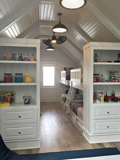 bunk room with eight beds