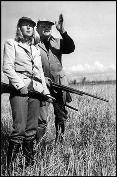 Martha Gelhorn with Ernest Hemingway