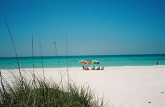 Anna Maria Island in Florida, where my husband and I had our first date, fell madly in love. It was like a dream.