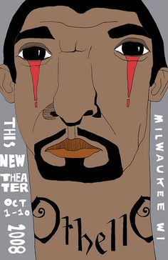 othello poster by Kpolly.com, via Flickr