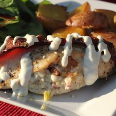 Gorgonzola & Bacon Stuffed Chicken Breasts
