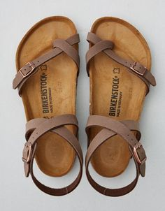 American Eagle Outfitters Men's & Women's Clothing, Shoes & Accessories Birkenstock Yara Sandal<br> Not eligible for promotions Cute Sandals, Cute Shoes, Women's Shoes Sandals, Me Too Shoes, Shoe Boots, Summer Sandals, Heeled Sandals, Shoes For Summer, Strappy Shoes