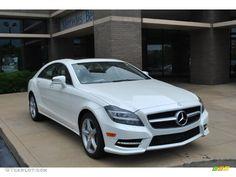 Mercedes-Benz CLS 550 2014 | Diamond White Metallic 2014 Mercedes-Benz CLS 550 4Matic Coupe ...