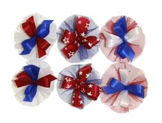 AC0911 - Patriotic Hair Bow Collection