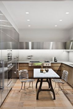 Kitchen in New York, NY by Shamir Shah Design