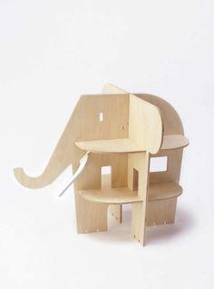 Bona fide wildly unusual house | 10 Dreamy Dolls Houses - Tinyme Blog
