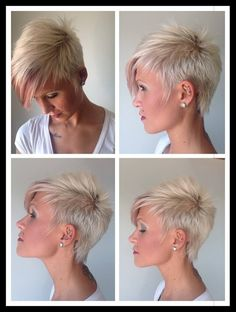 Gorgeous!! Found on FB via Nothing But Pixie Cuts IG - @nothingbutpixies