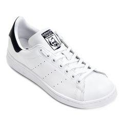 Tênis Adidas Stan Smith - Branco+Marinho
