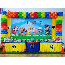Resultado de imagen para fiesta tematica paw patrol Paw Patrol Birthday Decorations, Paw Patrol Birthday Theme, Baby Boy Birthday, 3rd Birthday Parties, 4th Birthday, Little Man Party, Balloons, Threenager, Party Ideas