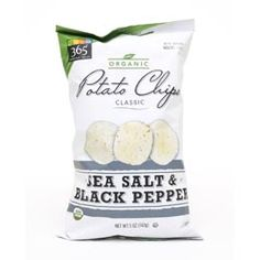 365 Everyday Value sea salt & black pepper organic potato chips Whole Foods 365, Whole Foods Market, Whole Food Recipes, 365 Everyday Value, Potato Chips, Sea Salt, Potatoes, Organic, Stuffed Peppers