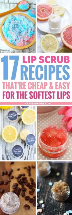 Homemade DIY Lip scrub recipes that are life changing! If you're suffering from dry, cracked lips, this baby will sort that out in minutes! Trust me, it works so well! Best thing - you probably already have all the Homemade Beauty, Diy Beauty, Beauty Tips, Beauty Ideas, The Body Shop, Sugar Scrub Homemade, Diy Lip Sugar Scrub, Cracked Lips, Diy Scrub