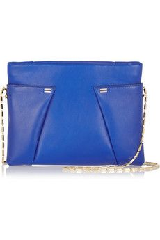 Roland Mouret Montsouris leather shoulder bag | NET-A-PORTER