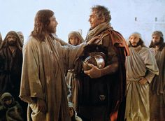 """The centurion said in reply, """"Lord, I am not worthy to have you enter under my roof; only say the word and my servant will be healed. For I too am a person subject to authority, with soldiers subject to me. And I say to one, 'Go,'& he goes;& to another, 'Come here,'& he comes;& to my slave, 'Do this,'& he does it."""" When Jesus heard this, he was amazed & said to those following him, """"Amen, I say to you, in no one in Israel have I found such faith.  -Matthew 8:7-10(NABRE)"""