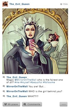 Disney Selfie Fables ~ If Disney stories have Instagram ~ Simona Bonafani #amusementphile